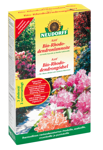 neudorff bio rhododendronlannoite. Black Bedroom Furniture Sets. Home Design Ideas